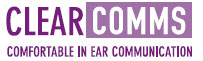 Clearcomms in ear communication hearing protection