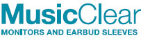 MusicClear Hearing Protection for Musicians and Recording Artists