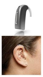 BTE Hearing Aid Behind the ear