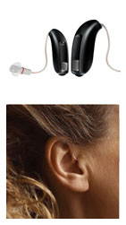 RITE Hearing Aid Receiver in the ear